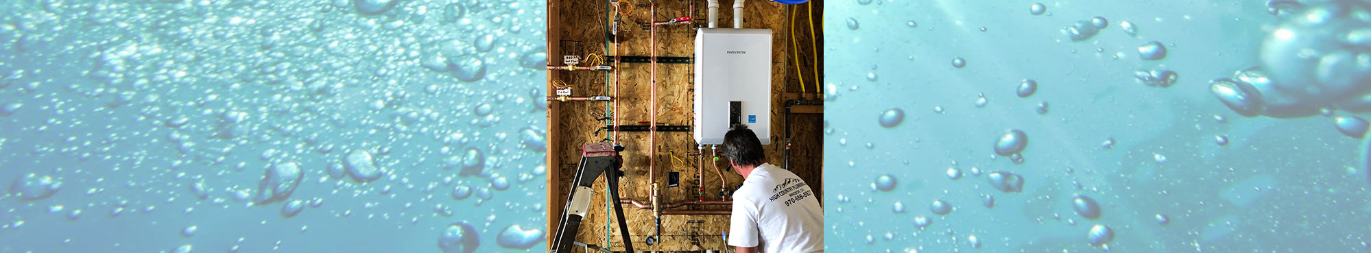 tankless water heater hero image